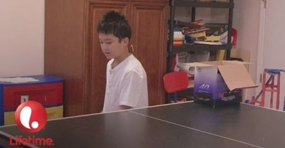 This Child Genius, Ryan, Plays Ping Pong During His Study Sessions