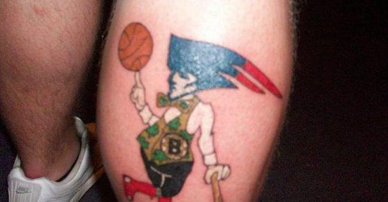 25 over the top nfl tattoos undercover guff for Nfl tattoos gallery
