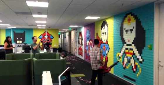 Leaf Blower Brings Down Post-It Note Art in This Funny (Or Tragic?) Video
