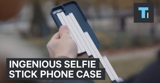 StikBox is the World's First iPhone Case with a Built-In Selfie Stick!