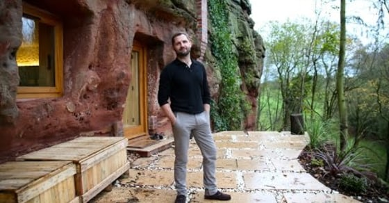 Modern Caveman: Man Builds His Dream Home Inside a 700 Year Old Cave!