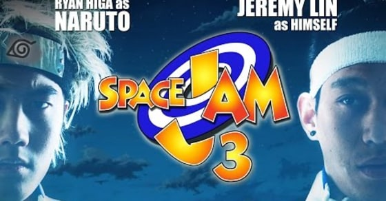 Jeremy Lin Stars in Space Jam 3: Anime Edition!