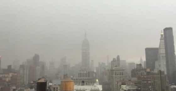 Video Captures Lightning Bolt Striking Empire State Building