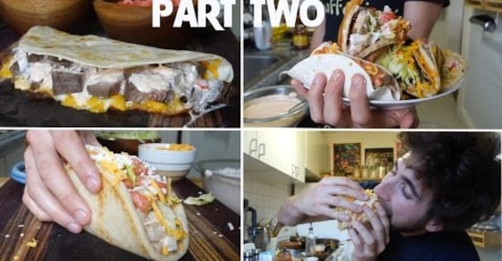These Guys Show You How to Make Taco Bell's Entire Menu - Part 2