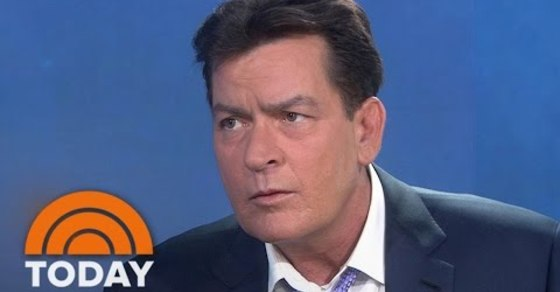 Charlie Sheen Reveals To The World He's HIV Positive On The Today Show