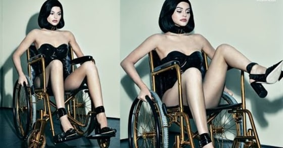 Kylie Jenner Receives Backlash After Photoshoot That Included a Wheelchair