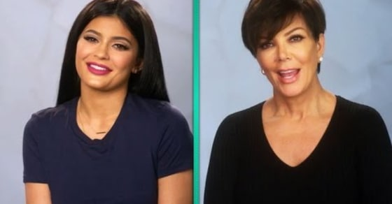 Motherly Advice. Kris Jenner Gives Daughter Kylie Jenner Advice On Her First Club Appearance