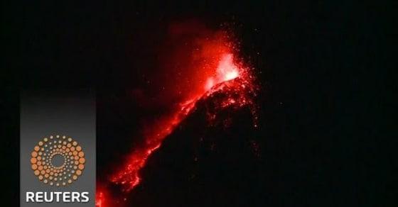 Fuego. Central Americas Most Active Volcano