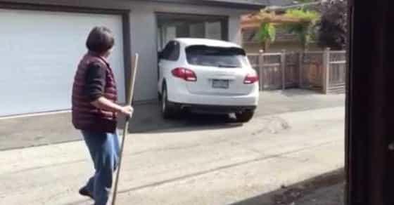 SMH: Moron Teen Mangles Mom's Porsche After Hit-And-Run