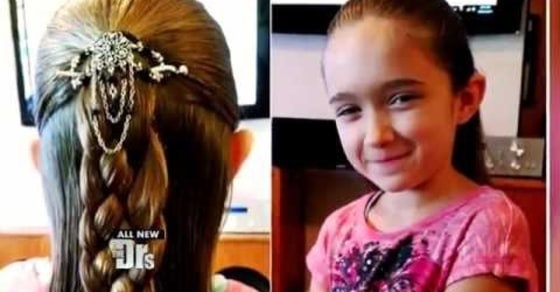 Impressive. Single Dad Launches Hairstyling Classes For Dads with Daughters