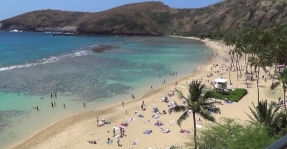 See Where The Number One Beach In America Is Located