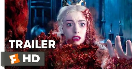 Alice Through the Looking Glass - Official Trailer #2 (2016) Mia Wasikowska, Johnny Depp