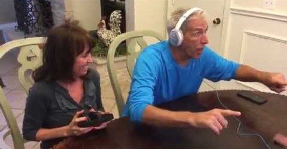 Watch Their Awesome Reaction When Told They're Going To Be Grandparents!