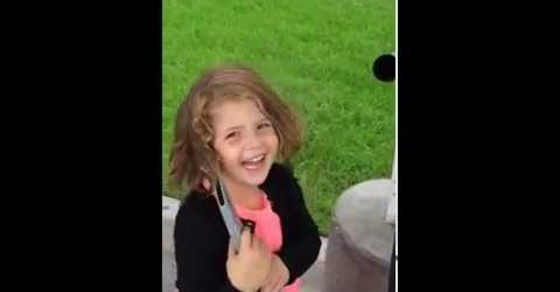 VIDEO: This Little Girl Is Having Too Much Fun With This Car Vacuum