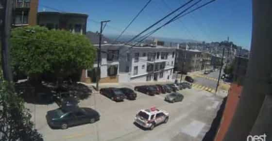 Shocking Video Shows Police Stopping Armed Robbery in Broad Daylight