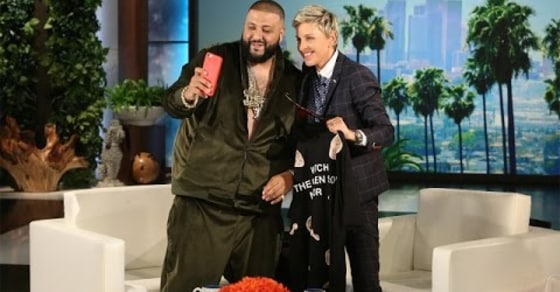 "DJ Khaled Explains Who ""They"" Are on the Ellen Show!"