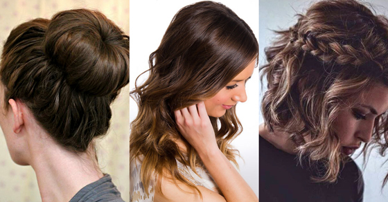 Marvelous 15 Easy Everyday Hairstyles To Try Hair Bow Guff Short Hairstyles Gunalazisus