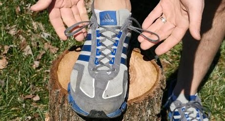 This Guy Perfectly Explains What the Extra Holes on Sneakers Are For