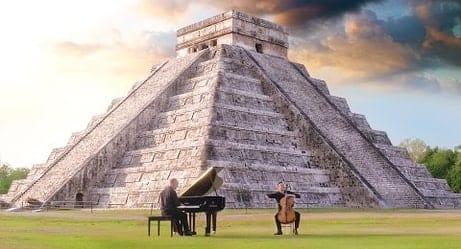 Epic: Piano Guys Perform 'Jungle Book' Music at Mayan Temple