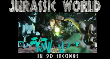 Jurassic World: 90-Second Lego Edition