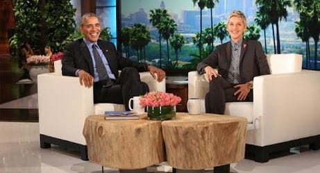 President Obama Praises Ellen DeGeneres for Empowering the LGBT Community!