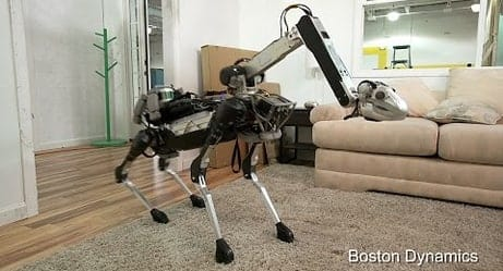 Boston Dynamics Shows Off Its New Robot That Can Do The Dishes, Serve Drinks, And More!