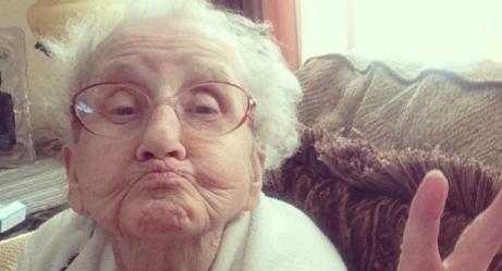 Adorable Grandma Battles Cancer on Instagram