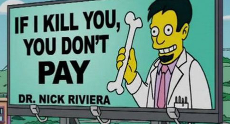 Some of the Funniest Signs From The Simpsons