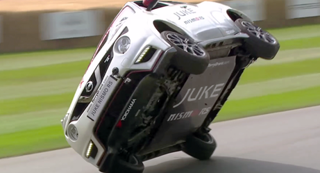 """Watch: Driver Sets World Records for Fastest """"2 Wheel"""" Mile"""