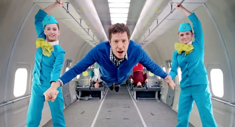 OK Go Singer Passes Out During Music Video Shoot. See The Footage