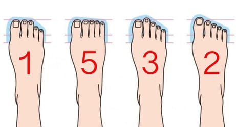 How Your Feet Are Shaped Can Say A Lot About Who You Are