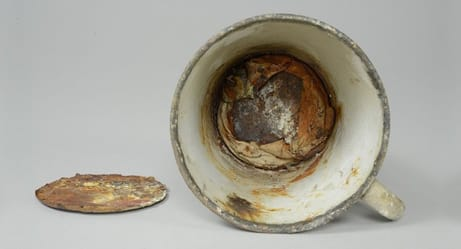 Nazi Officers in Auschwitz Thought This Was Just a Mug, but It Held an Amazing Secret for 70 Years