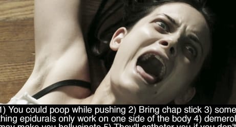Women Reveal The Painful Truths About Childbirth