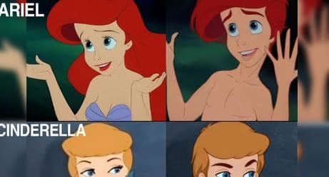 Here's What Your Favorite Disney Characters Would Look Like Gender-Swapped
