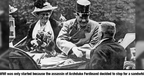 Mind-Blowing Historical Facts That Prove Reality Is Actually Stranger Than Fiction