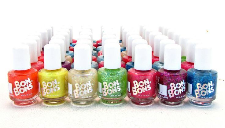 90s Beauty Products That Made Us Feel Rad - Bon Bons Nail Polish ...