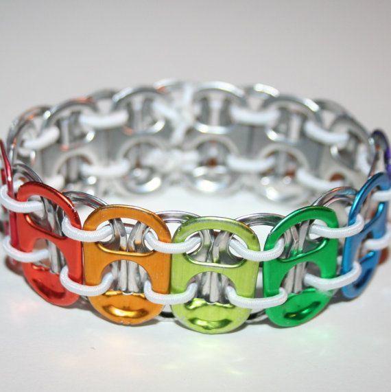 3. Soda Tab Bracelet