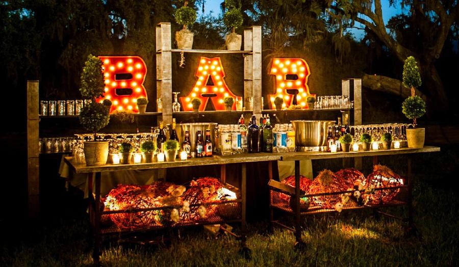 Outdoor Bar Lighting
