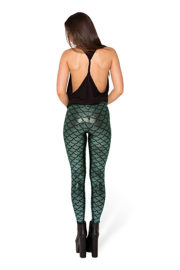 Girl feeling leggings ass from the