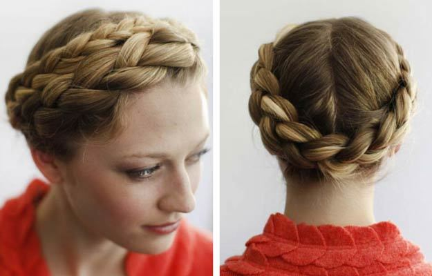 Most Chic Braided Hairstyles for Fall - Heidi Braid Crown | Chanel ...