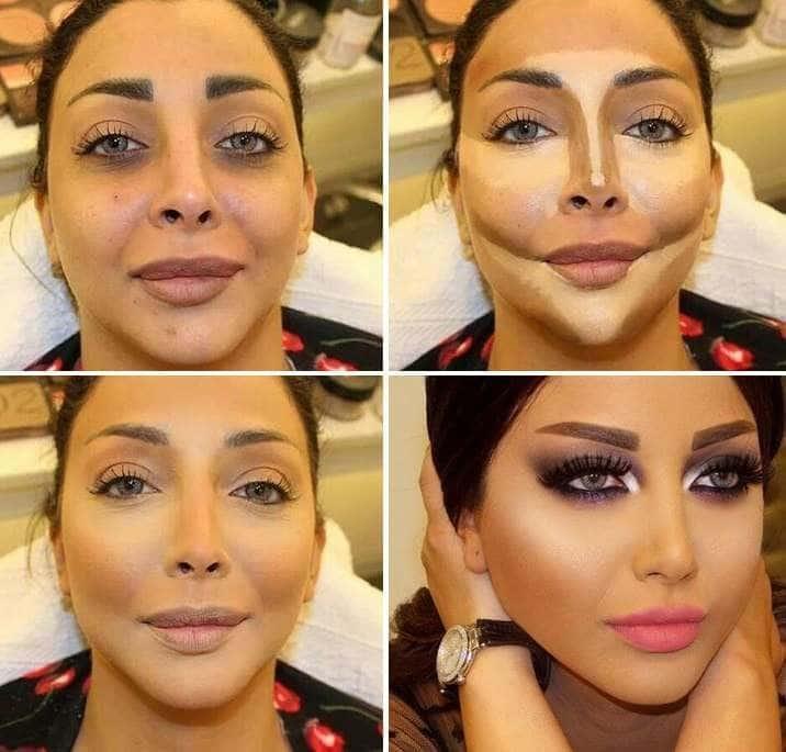 Как сделать правильно макияж
