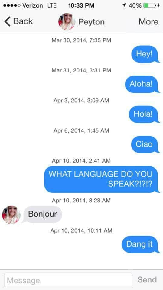 Funniest Meme Conversations : This guy s hilarious tinder conversations will leave you