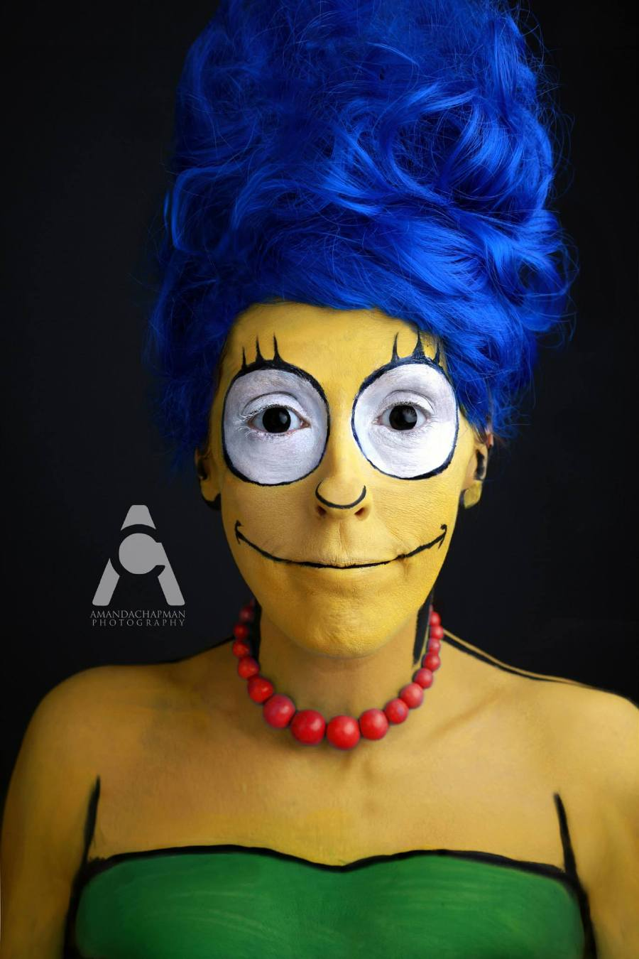 23 images of epic halloween makeup and photography by - Marge simpson nud ...