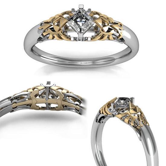 18 of the most geeky wedding rings - Nerd Wedding Rings