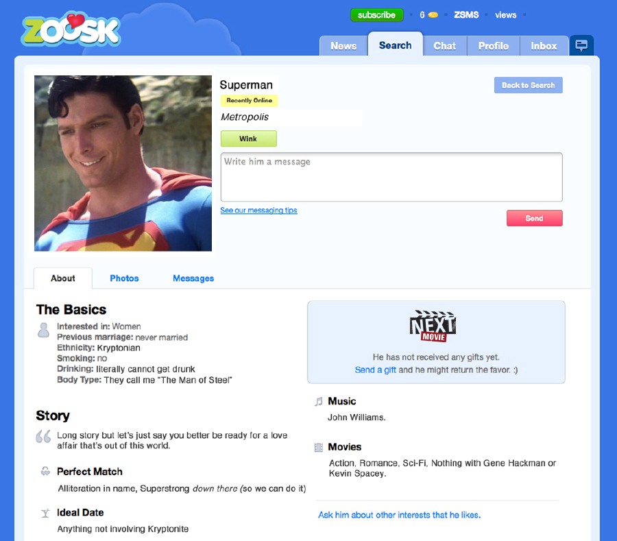 brainiac online dating Witty comments online dating knows it do you enjoy being terrified by crazed drunks at 3am  until his date told him that she considers herself a real brainiac.
