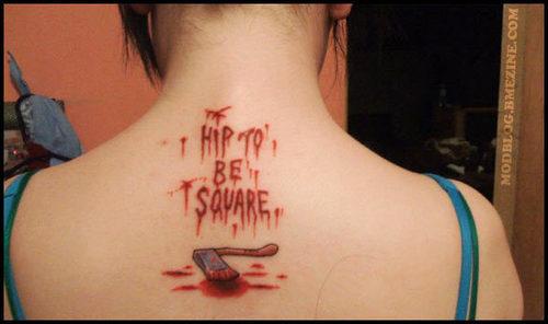 Red Hot Chili Peppers Lyrics Tattoo