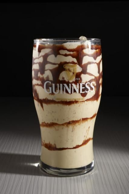 ... things: Guinness, ice cream, and chocolate. Saints preserve us