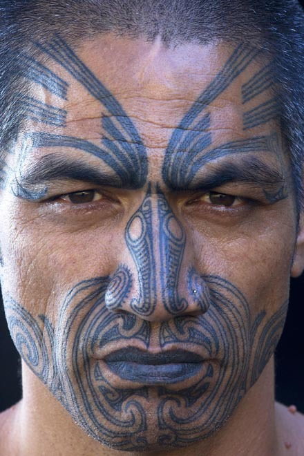 Maori Man: 20 Face Tattoos We Actually Appreciate - Tribal Cheeks