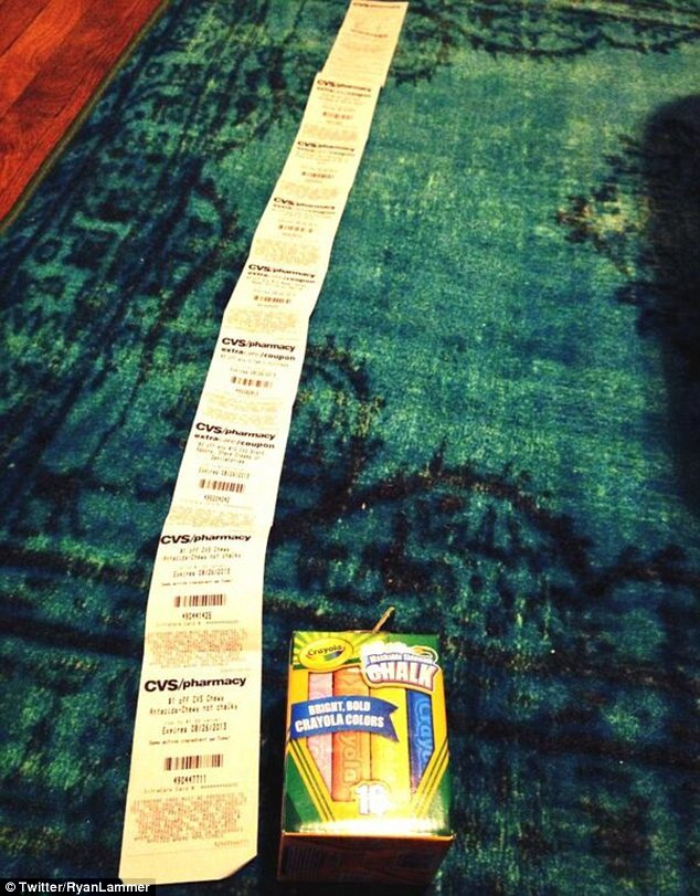 cvs receipt fails