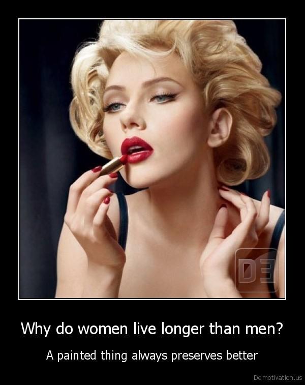 20 Reasons Why Women Live Longer Than Men